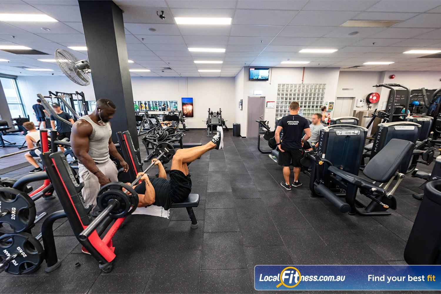 Fitness First Platinum Spring St Bondi Junction Our Bondi gym provides heavy duty benches and plate-loading machines.