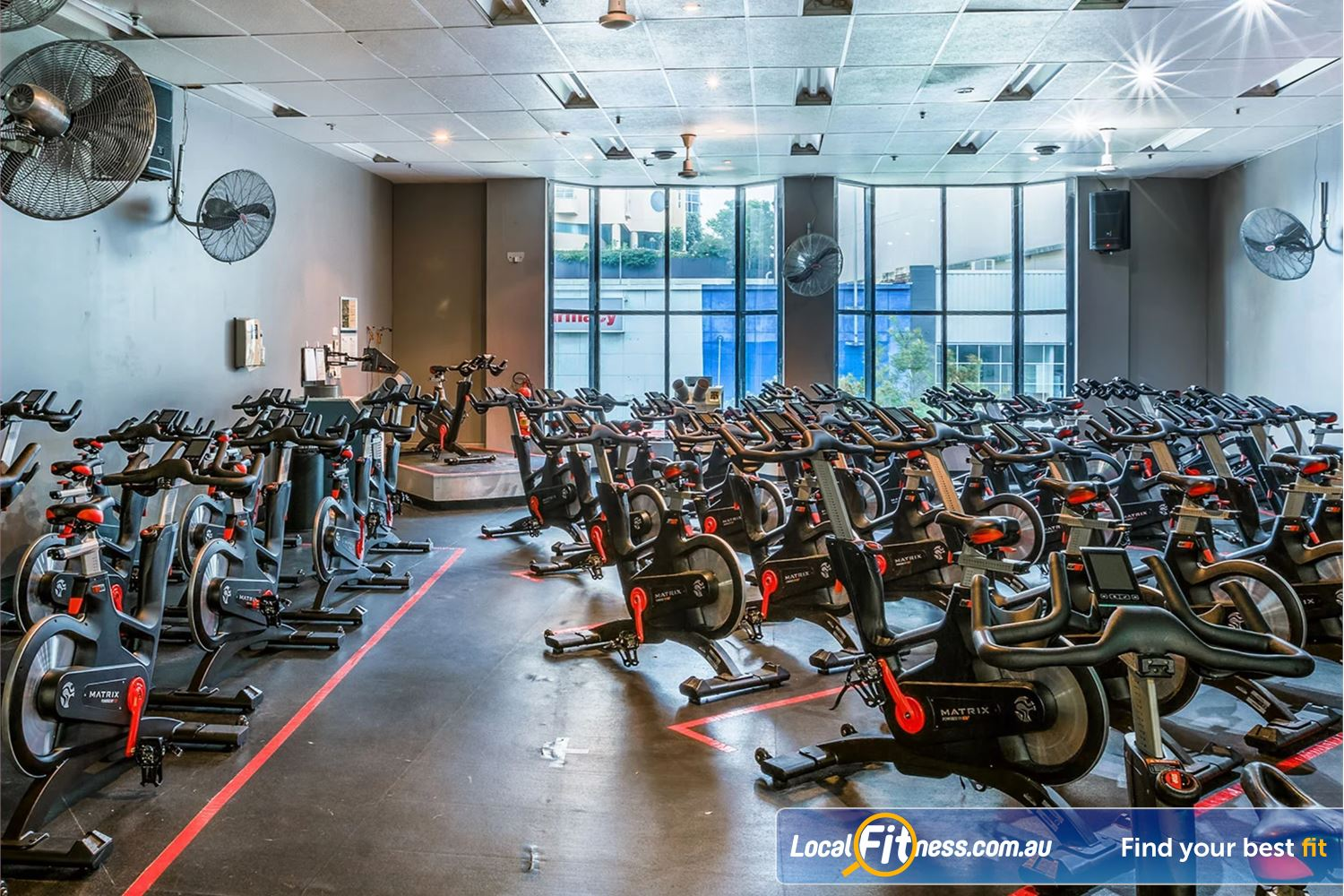 Fitness First Platinum Spring St Near Bellevue Hill The dedicated Bondi spin cycle studio with state of the art MATRIX cycle bikes.
