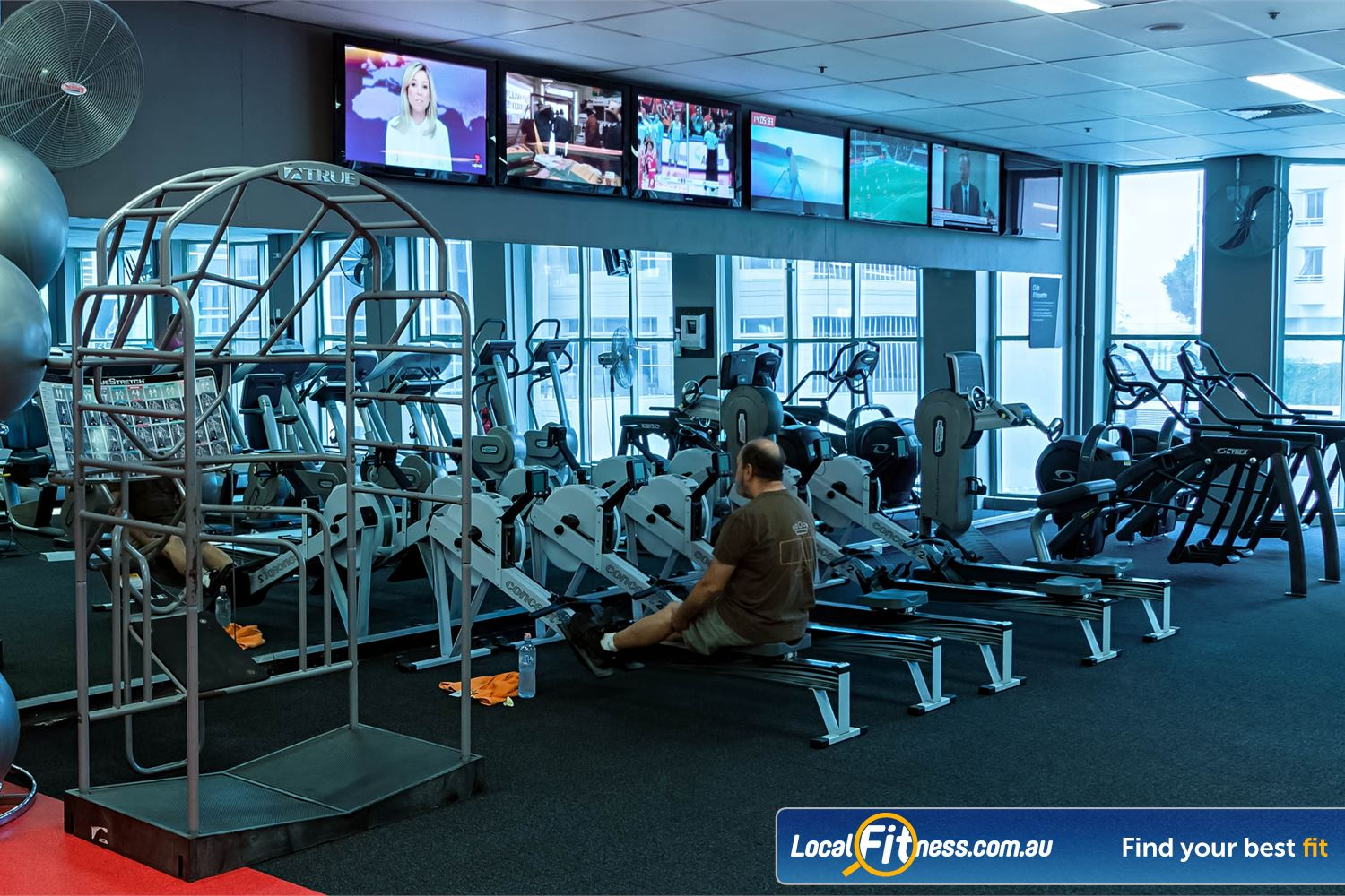 Fitness First Platinum Spring St Bondi Junction Our cardio area includes cross-trainers, treadmills, rowers and more.