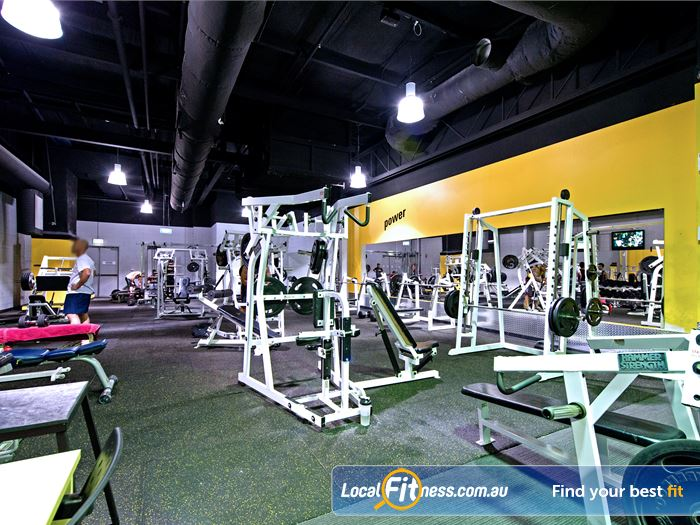 Vibe Health Clubs Gym Baulkham Hills    Our Blacktown gym has a wide selection of