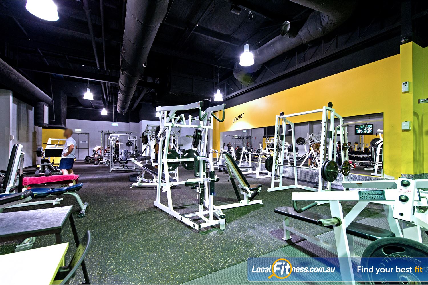 Vibe Health Clubs Near Huntingwood Our Blacktown gym has a wide selection of free-weights and machines.