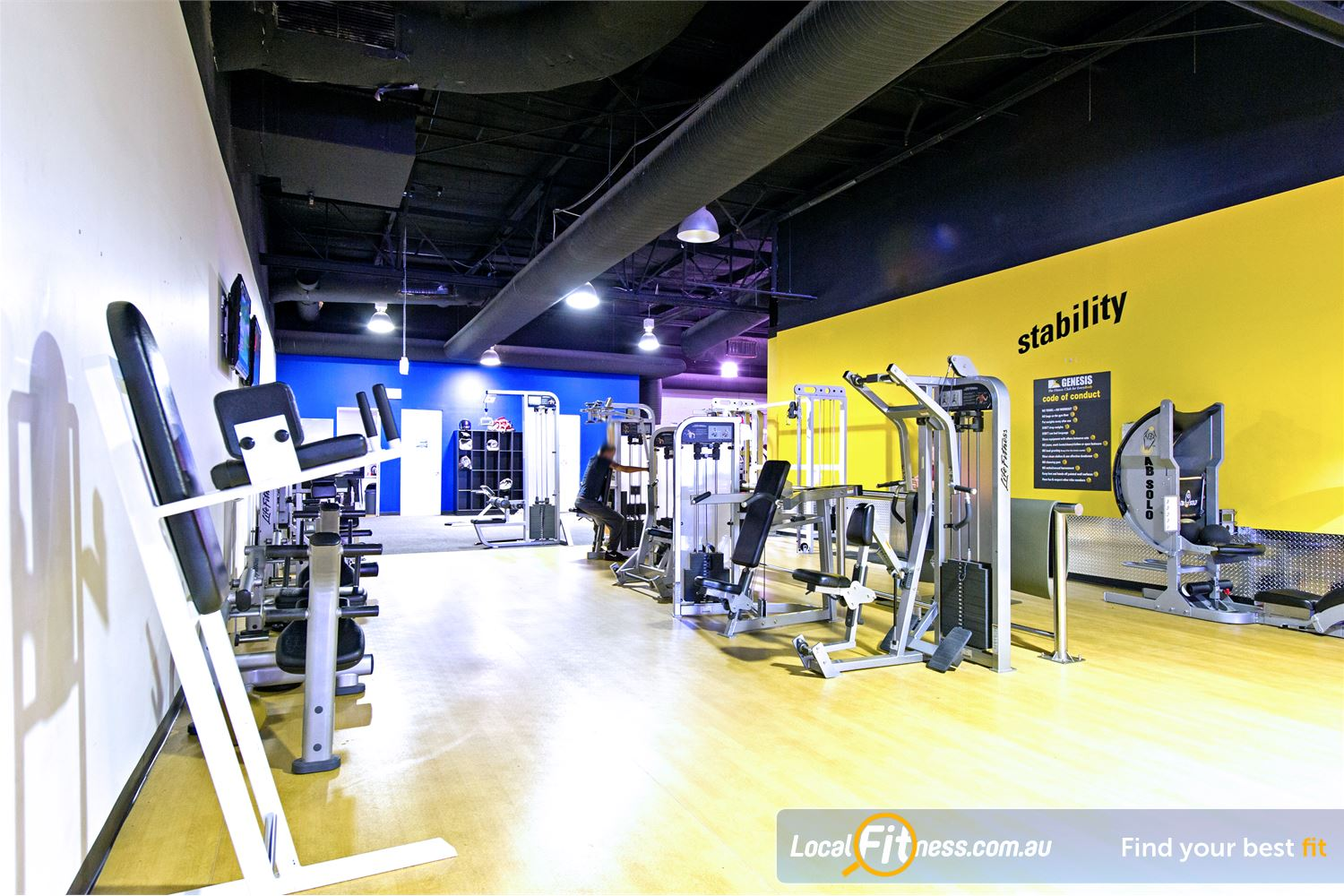 Vibe Health Clubs Near Marayong Vibe Blacktown gym provides a fully equipped facility.