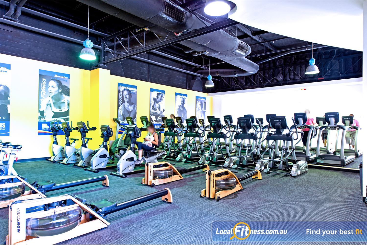 Vibe Health Clubs Near Doonside Our Blacktown gym has rows of machines so you'll never have to wait.