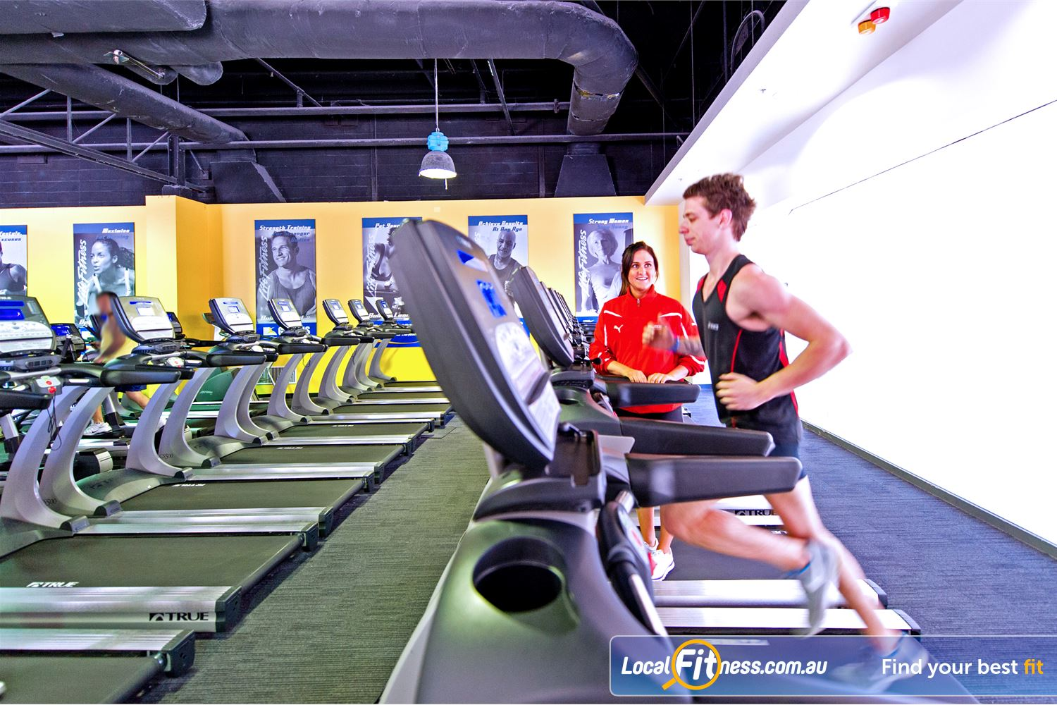 Vibe Health Clubs Blacktown Blacktown gym instructors can fast-track your cardio and weight-loss goals.