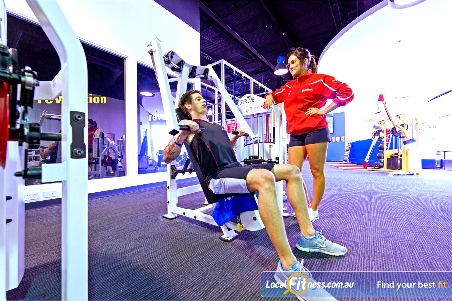 Vibe Health Clubs Near Marayong Blacktown gym instructors can tailor a fitness program to suit you.