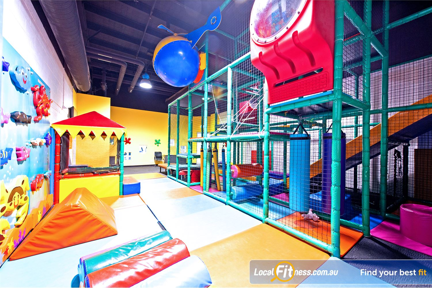 Vibe Health Clubs Near Marayong Fun fun fun at the Vibe Blacktown child care facility.