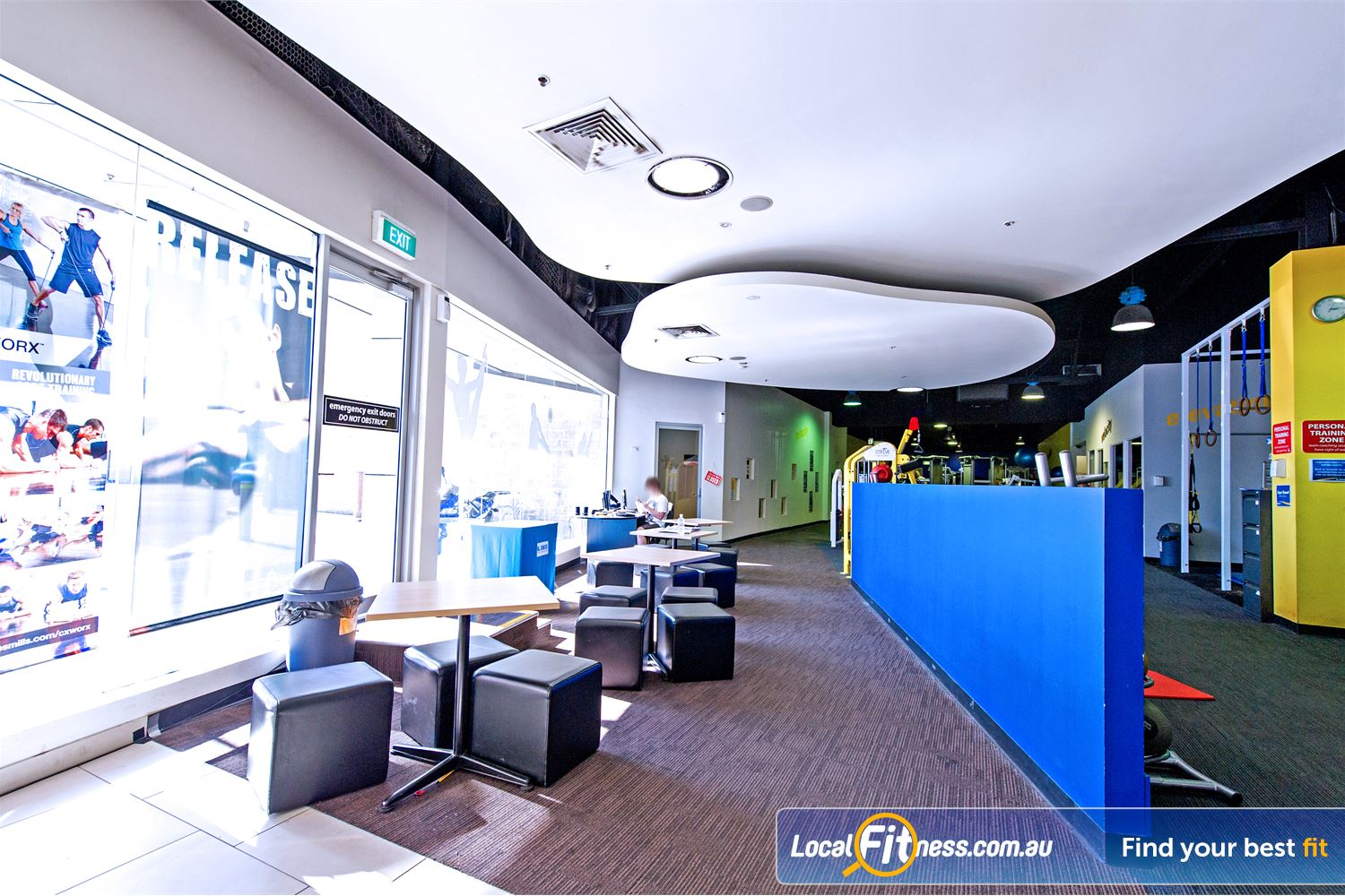 Vibe Health Clubs Blacktown A spacious area for our valued Blacktown members.