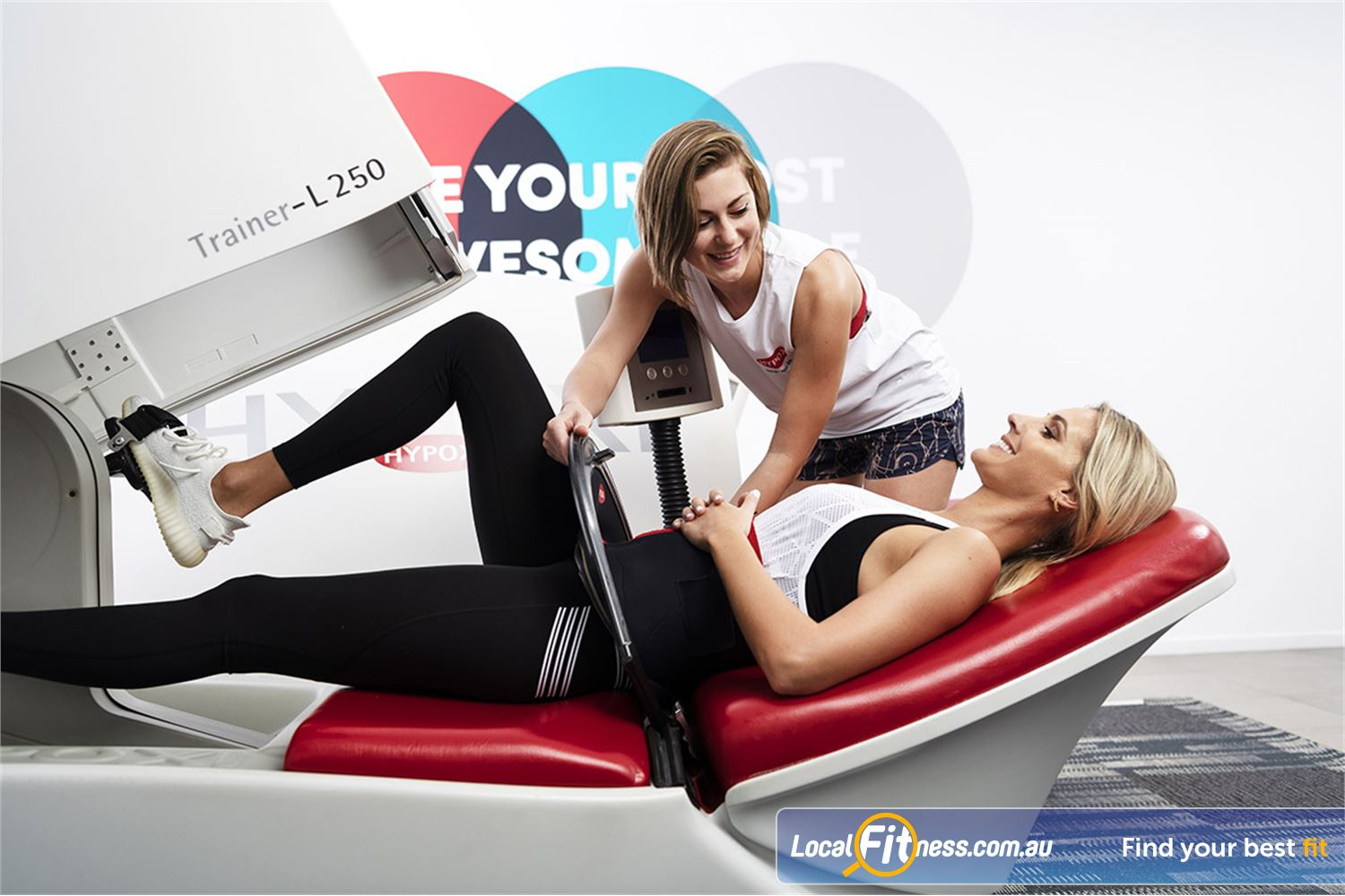 HYPOXI Weight Loss Newtown For women HYPOXI is great for Newtown cellulite reduction.