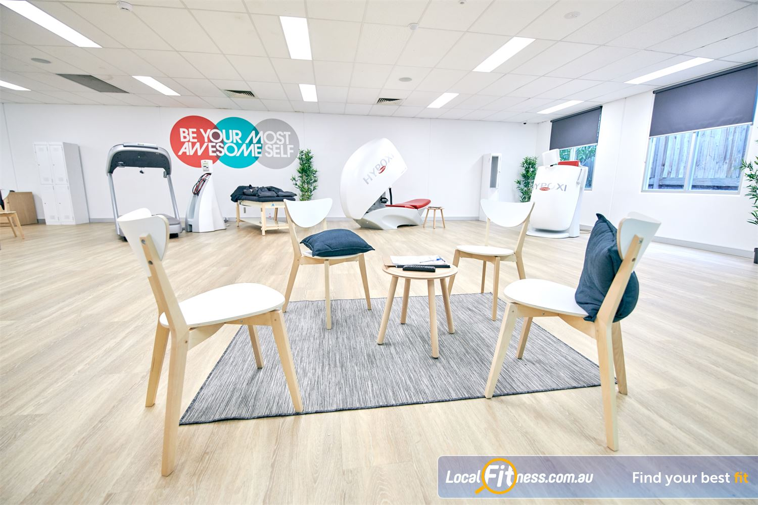 HYPOXI Weight Loss Near Erskineville Our Newtown HYPOXI weight-loss coaches will monitor your progress.