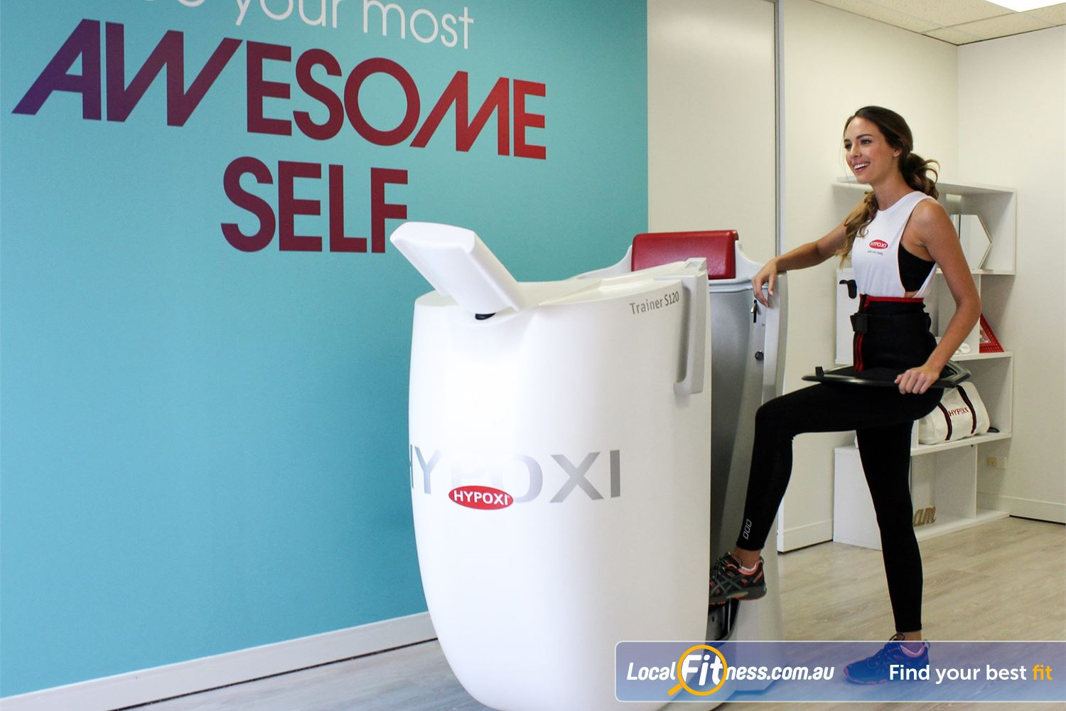 HYPOXI Weight Loss Newtown Average client loses 26cm in first 4 weeks at HYPOXI Newtown.