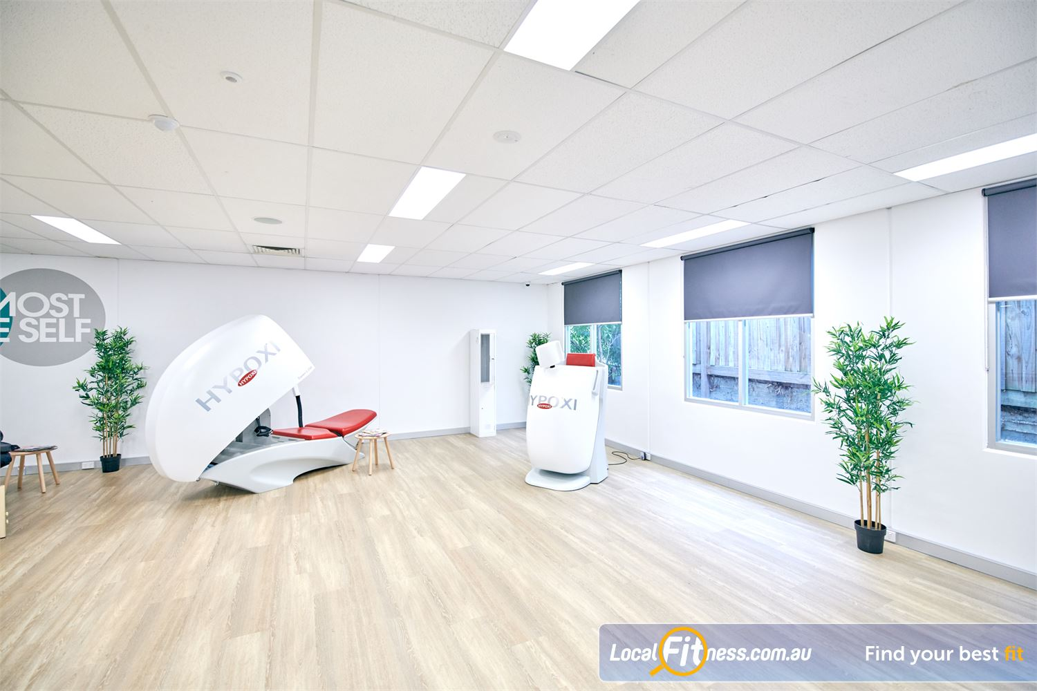 HYPOXI Weight Loss Near Camperdown The HYPOXI L250 is like a cycle machine from the future.