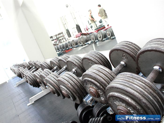 Maidstone Health Club Braybrook Plenty of dumbells for the beginner to the advanced athelete.