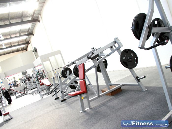 Maidstone Health Club Near Sunshine North We only invest in the highest quality plate-loading iso-lateral equipment.