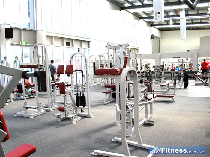 Maidstone Health Club Braybrook A wide selection of equipment to target every muscle group.
