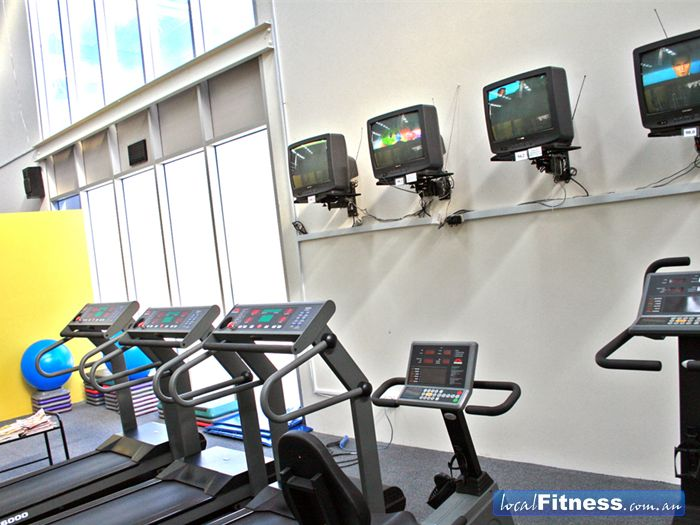 Maidstone Health Club Braybrook Our ladies only cardio theatre.