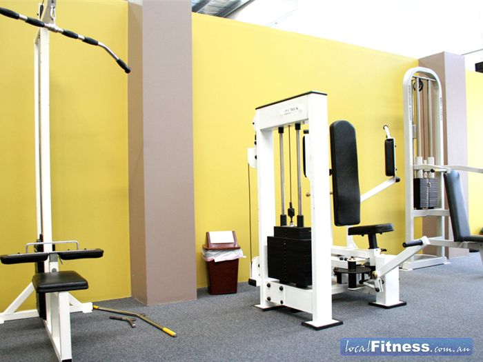 Maidstone Health Club Near Maribyrnong Machines to target every muscle group.