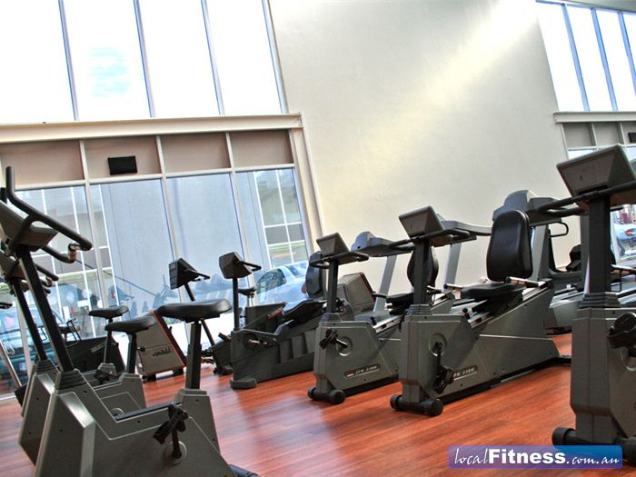 Maidstone Health Club Near Sunshine Plenty of bikes and recumbent bikes for your cardio workout.