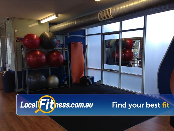 Plus Fitness 24/7 Oakleigh Work your abs or stretch your muscles.