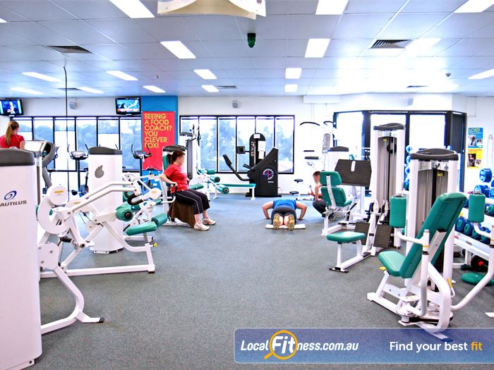 Fernwood Fitness Gym Bray Park  | The Fernwood Petrie gym is spacious and naturally
