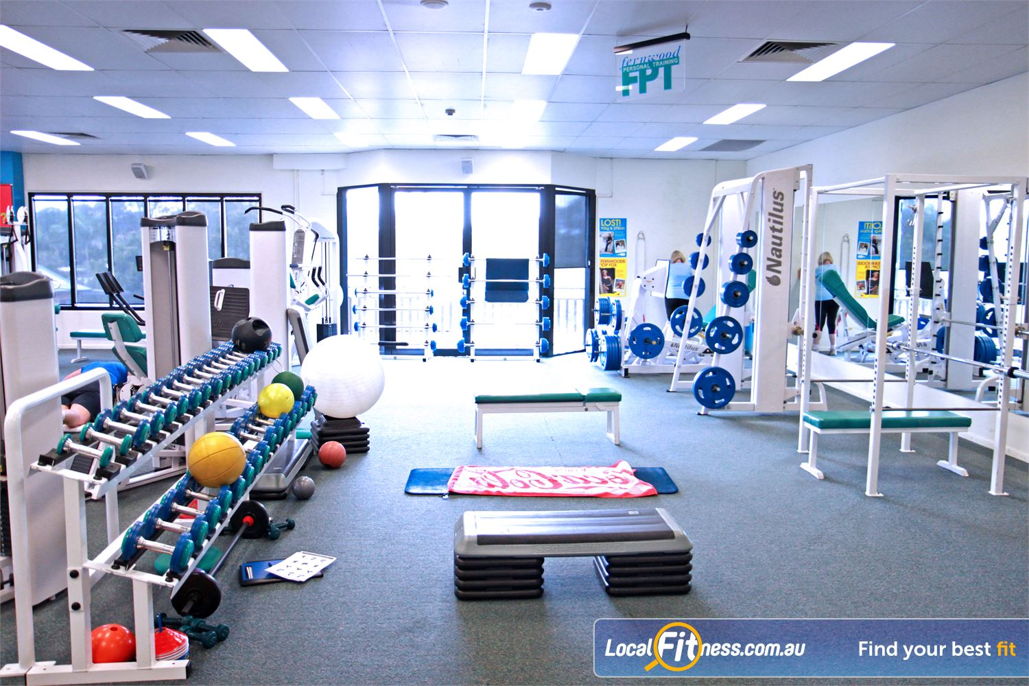 Fernwood Fitness Petrie We provide the right fitness and weights to help women lose weight.