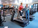 Luxury training with personal entertainment units on our