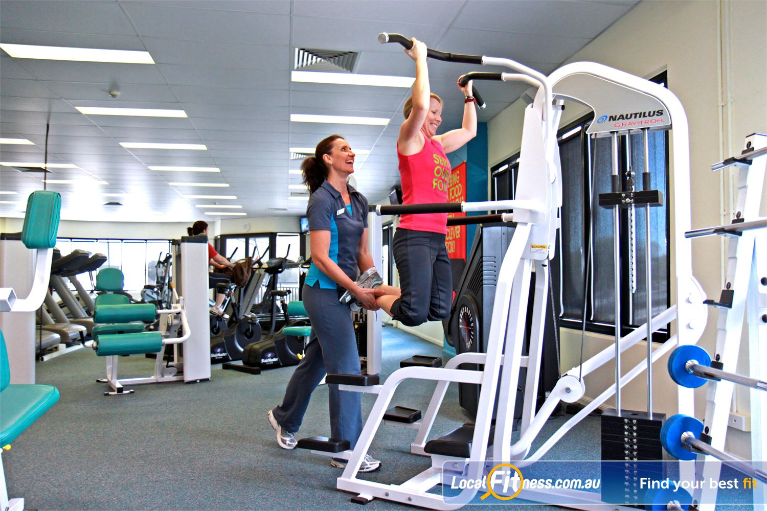 Fernwood Fitness Petrie We have the right Petrie gym equipment for women's weight loss goals.