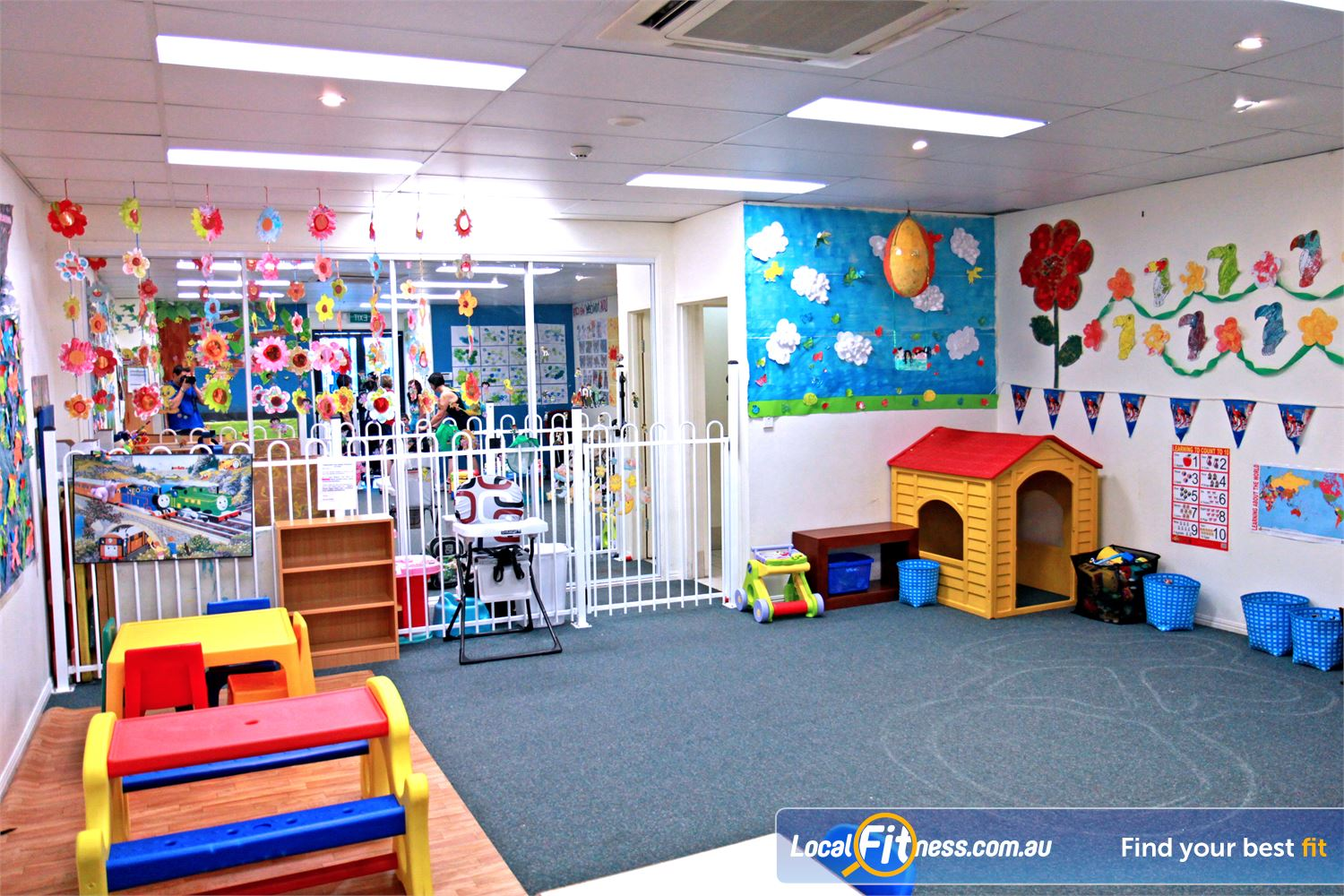 Fernwood Fitness Petrie Conveniently located on-site child care at the Fernwood Petrie gym.
