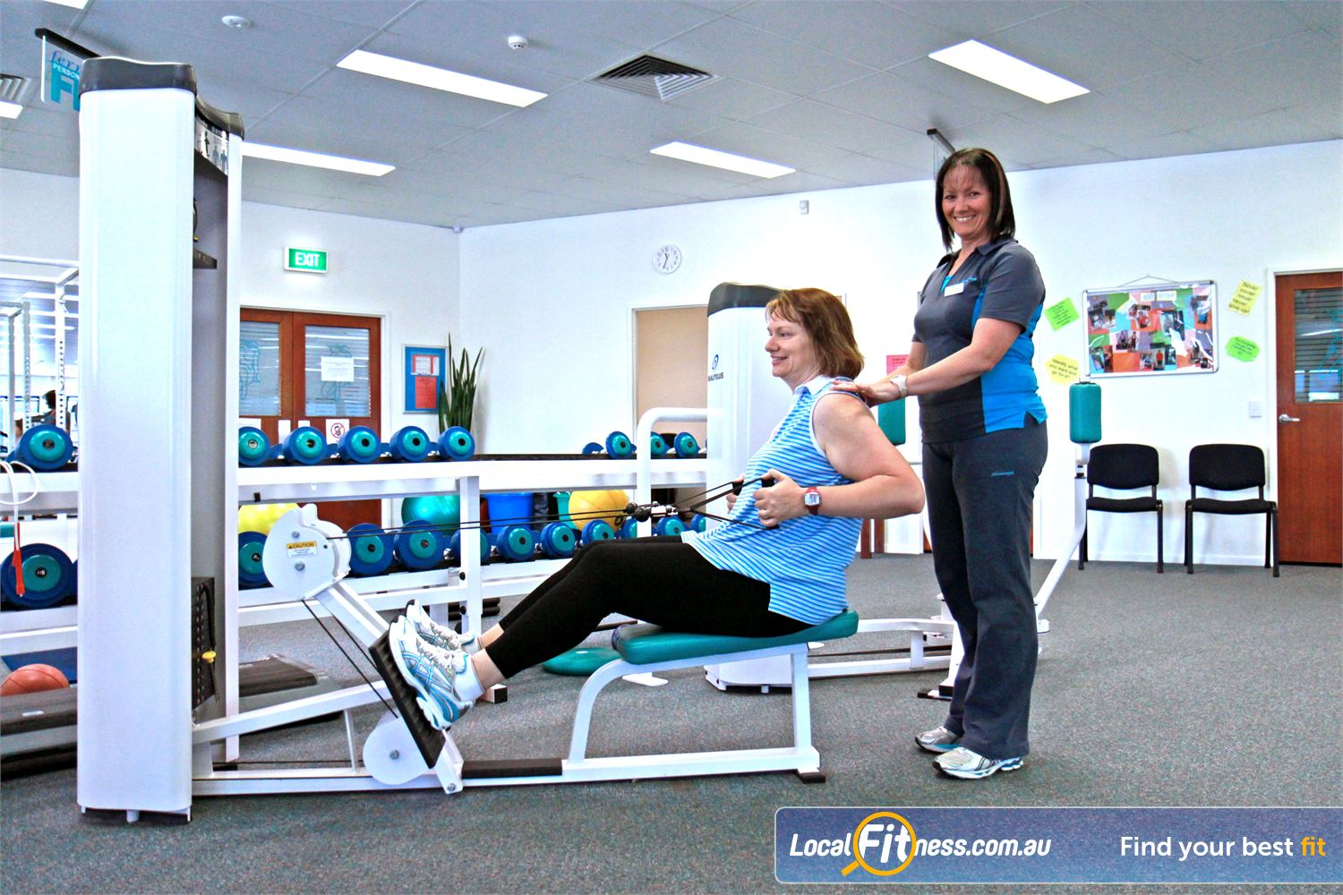 Fernwood Fitness Petrie Fernwood Petrie gym instructors can help you progress with your strength training.