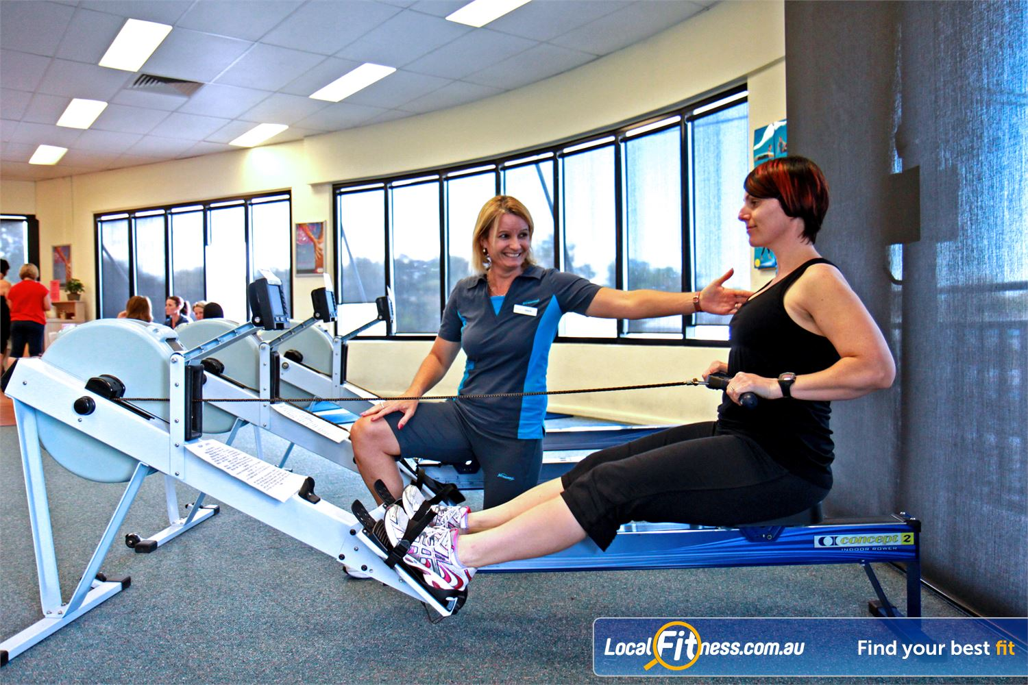 Fernwood Fitness Petrie Fernwood Petrie gym instructors can help you with cardio and weight management.