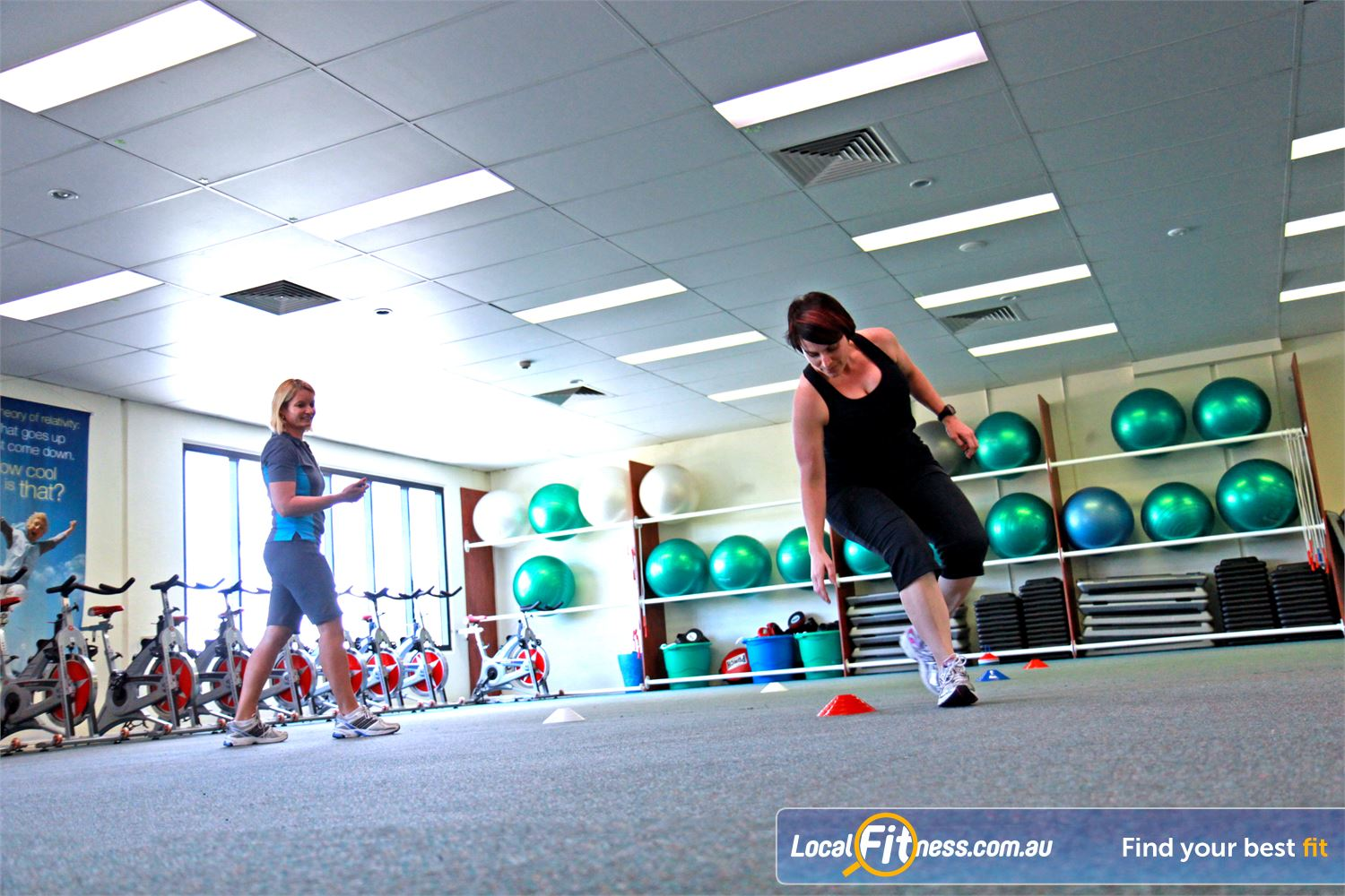 Fernwood Fitness Petrie Enjoy fitness cardio training with Petrie personal trainers.