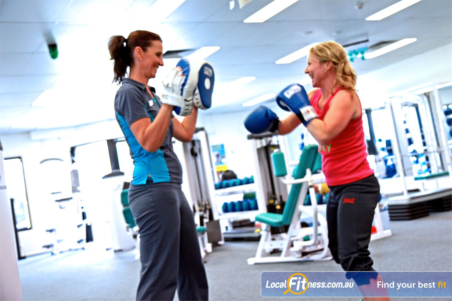 Fernwood Fitness Near Kallangur Lose weight fast with our energetic cardio boxing workouts.