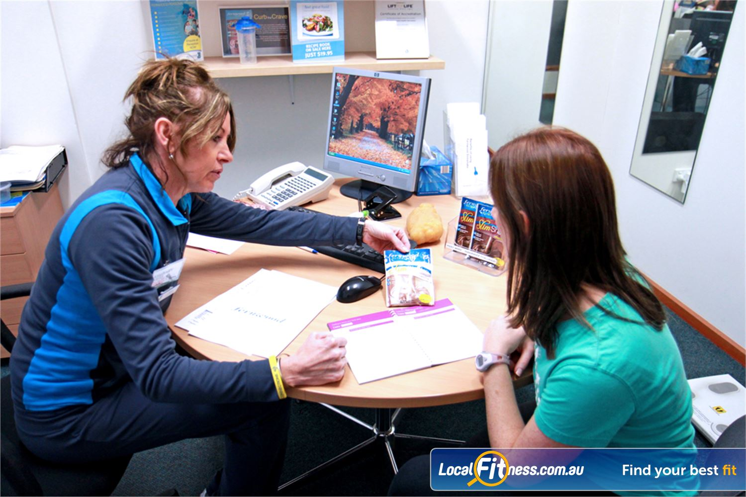 Fernwood Fitness Petrie Combine weight management with a balanced diet plan with Slimplicity.