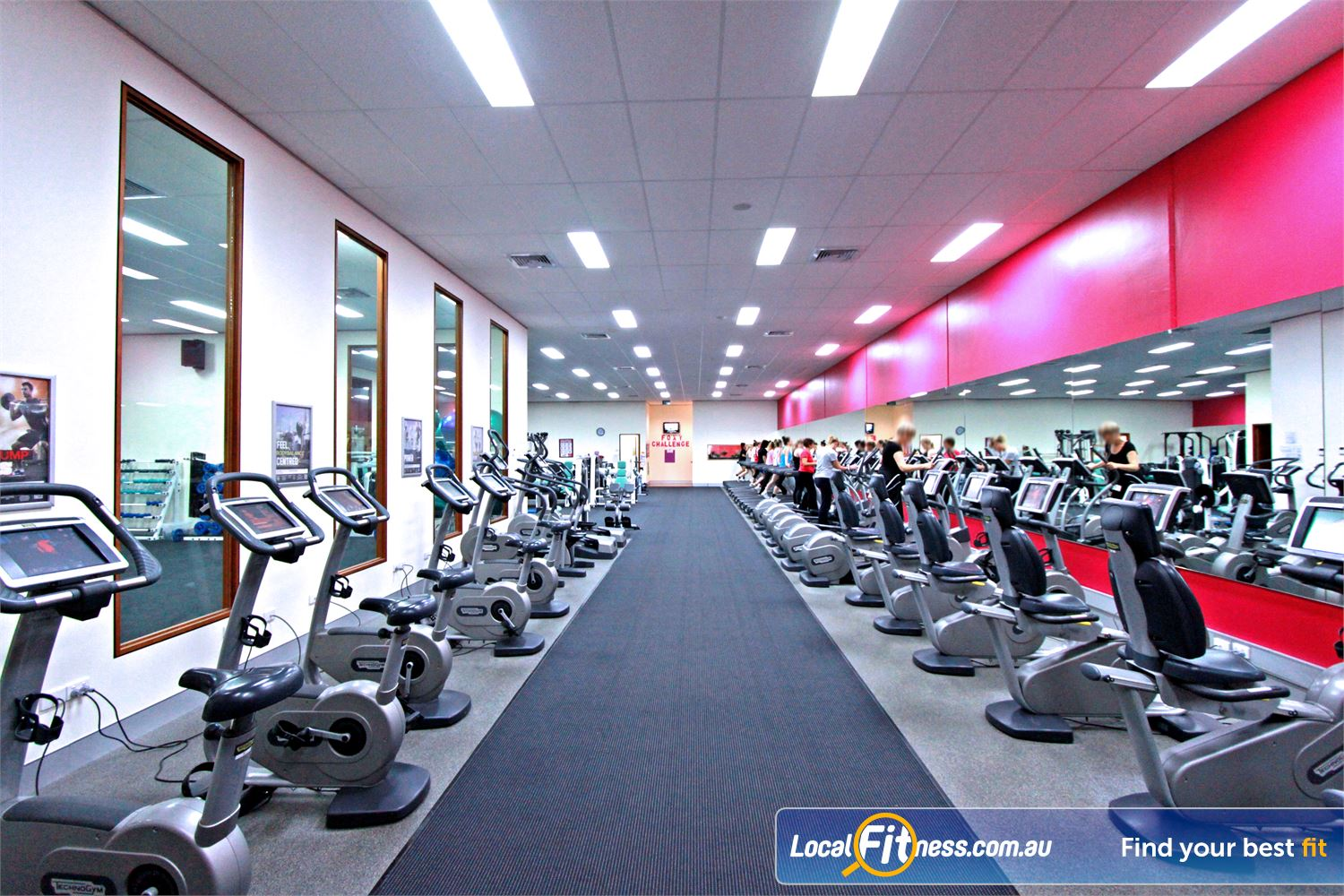Fernwood Fitness Ferntree Gully At Fernwood Ferntree Gully, variety is key with our HUGE range of cardio.
