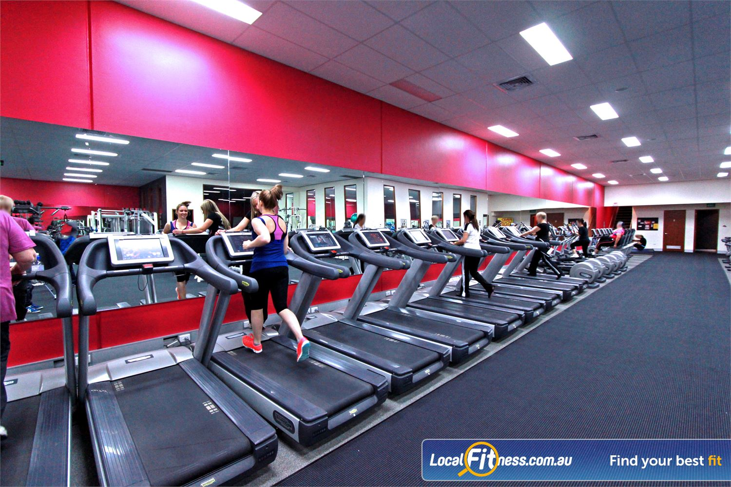 Fernwood Fitness Ferntree Gully Our women's Ferntree Gully gym features state of the art cardio equipment.
