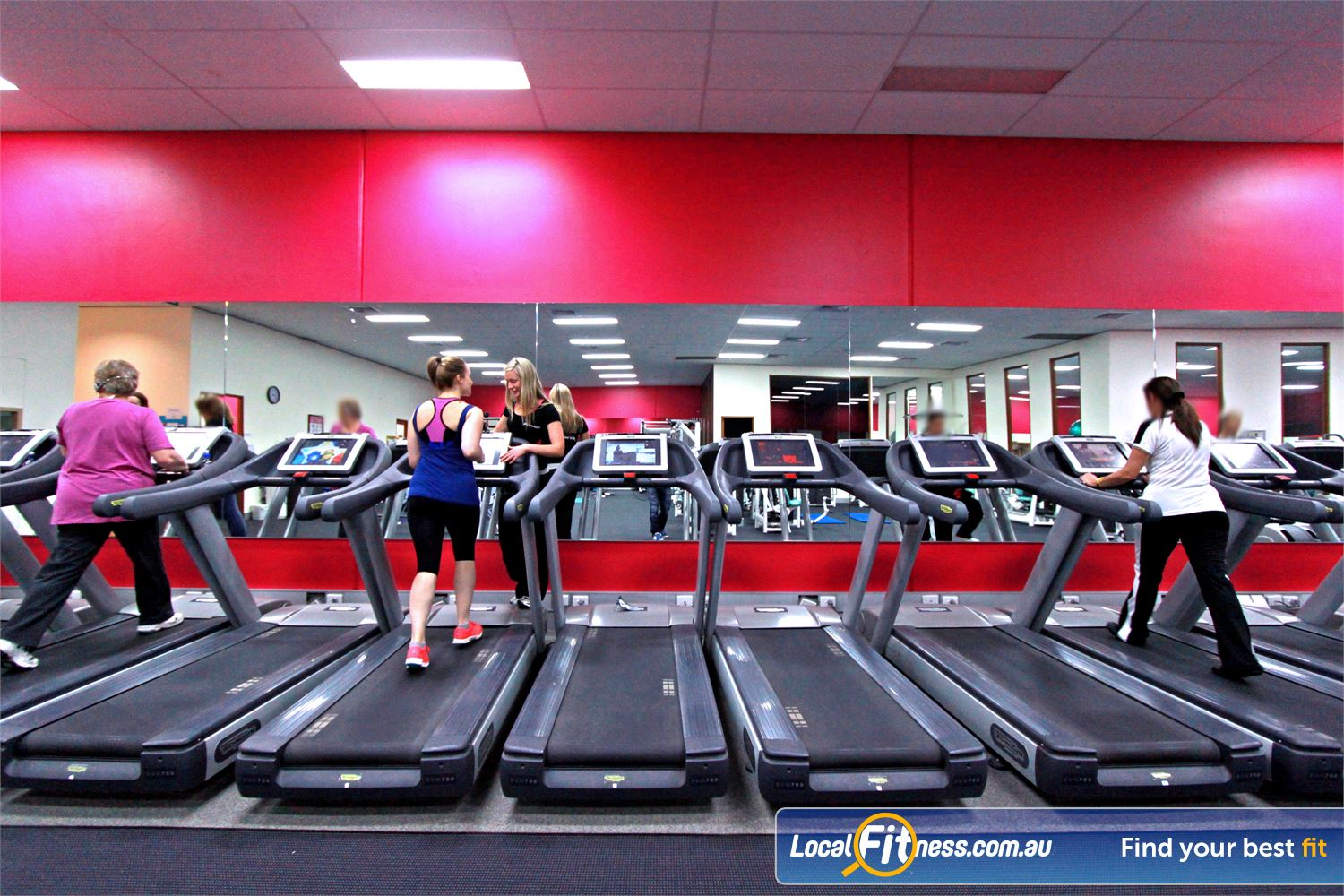 Fernwood Fitness Near Upper Ferntree Gully Fernwood women's Ferntree Gully gym provides personal entertainment screens on our cardio.