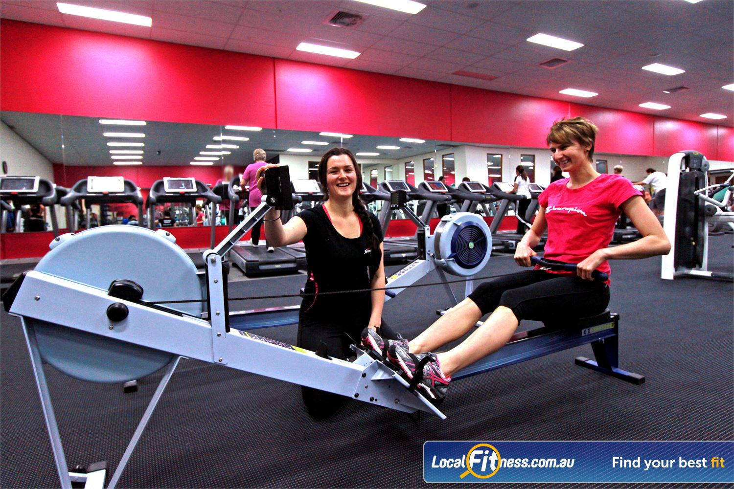 Fernwood Fitness Near Knoxfield Fernwood Ferntree Gully instructors can help you with cardio and weight management.