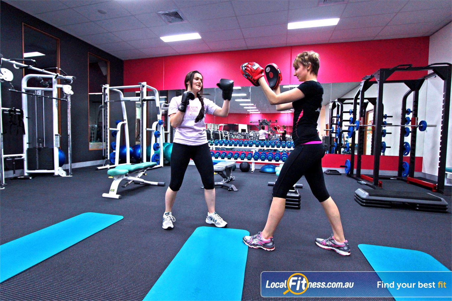 Fernwood Fitness Near Tremont Lose weight fast with our energetic Ferntree Gully boxing workouts.