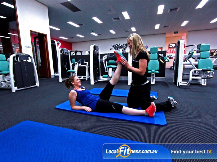 Fernwood Fitness Ferntree Gully Ladies Gym Fitness Enjoy a stretching program