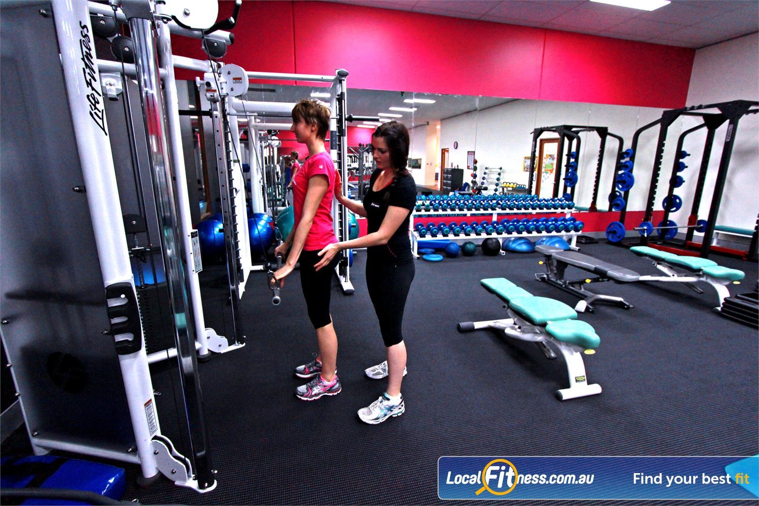 Fernwood Fitness Ferntree Gully Experience qualified exercise advice by our team of Ferntree Gully personal trainers.