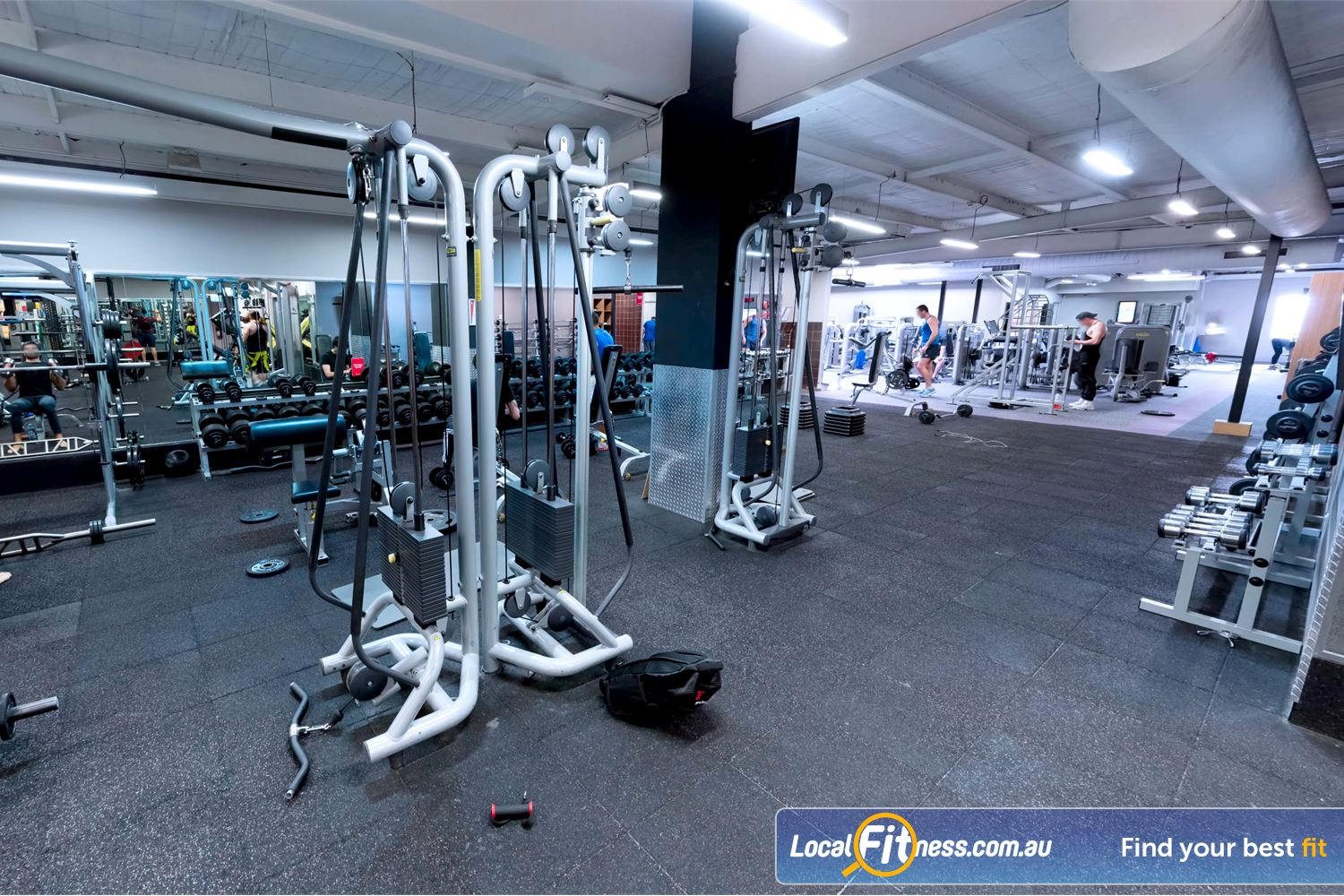 Fitness First Newtown Welcome to the state of the art Fitness First Newtown gym.