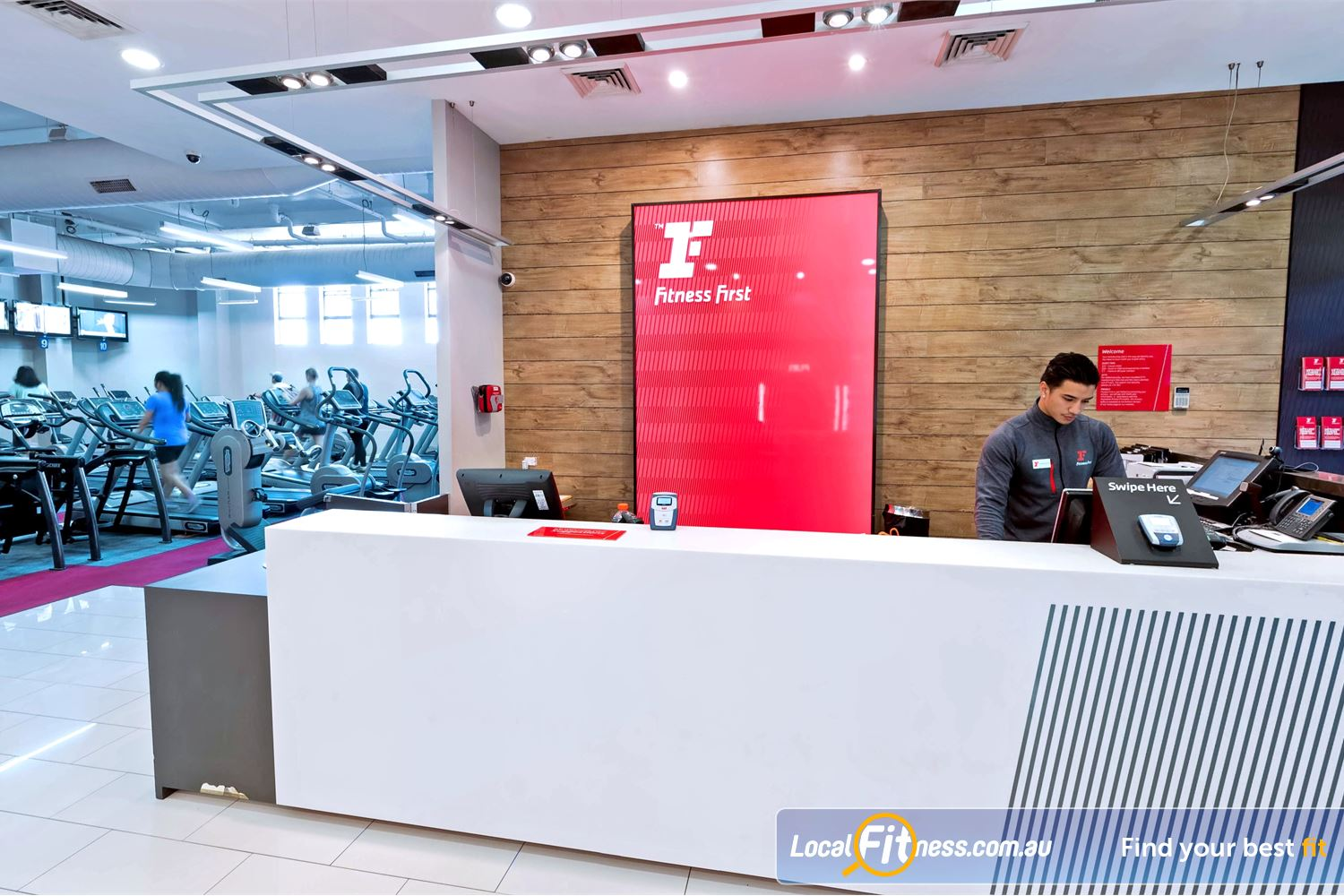 Fitness First Near Erskineville Our team is ready to help you reach your fitness goals.