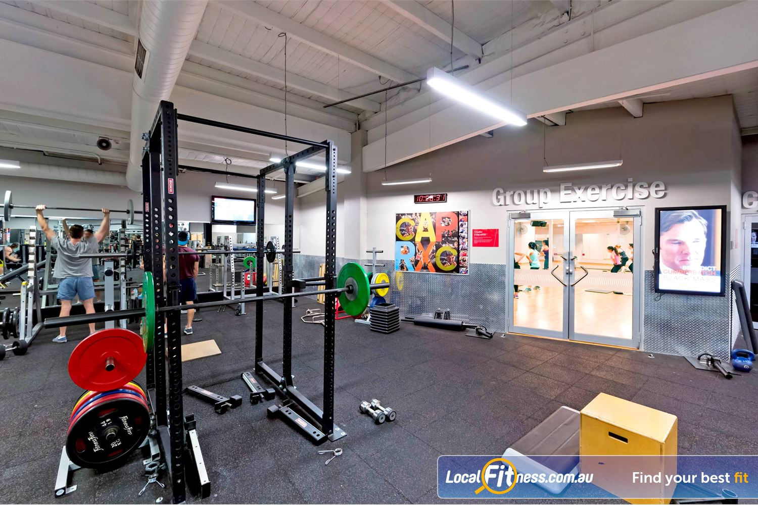 Fitness First Near Stanmore Our Newtown gym is fully equipped for strength training.