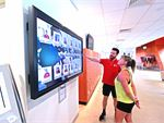 Our gym touch screen will help you find