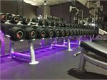 Anytime Fitness Oakleigh East Gym Fitness A full range of dumbbells for