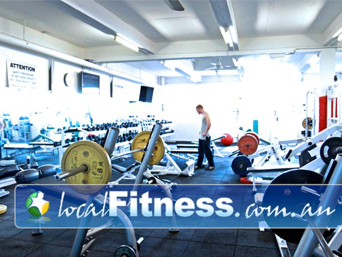Re-Creation Health Clubs Essendon Gym Fitness Sweeping views from Level 2 of