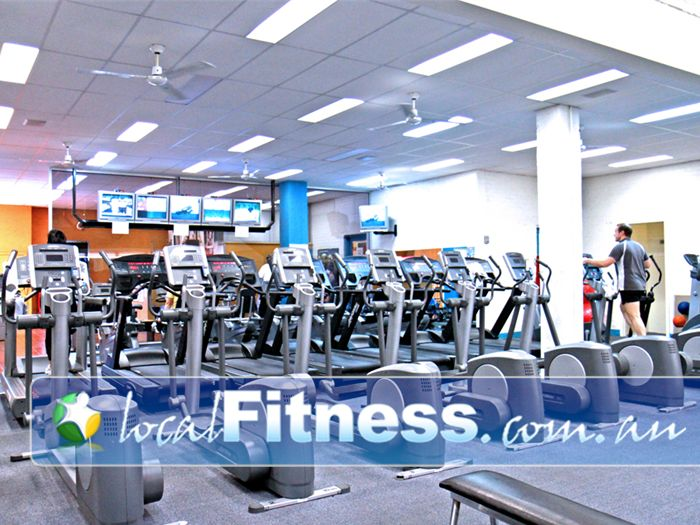 Re-Creation Health Clubs Strathmore Gym Fitness The spacious cardio area in our