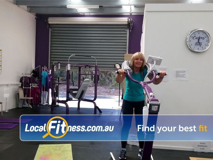 Curves Gym Pearcedale  | The famous Mornington Curves circuit with hydraulic resistance