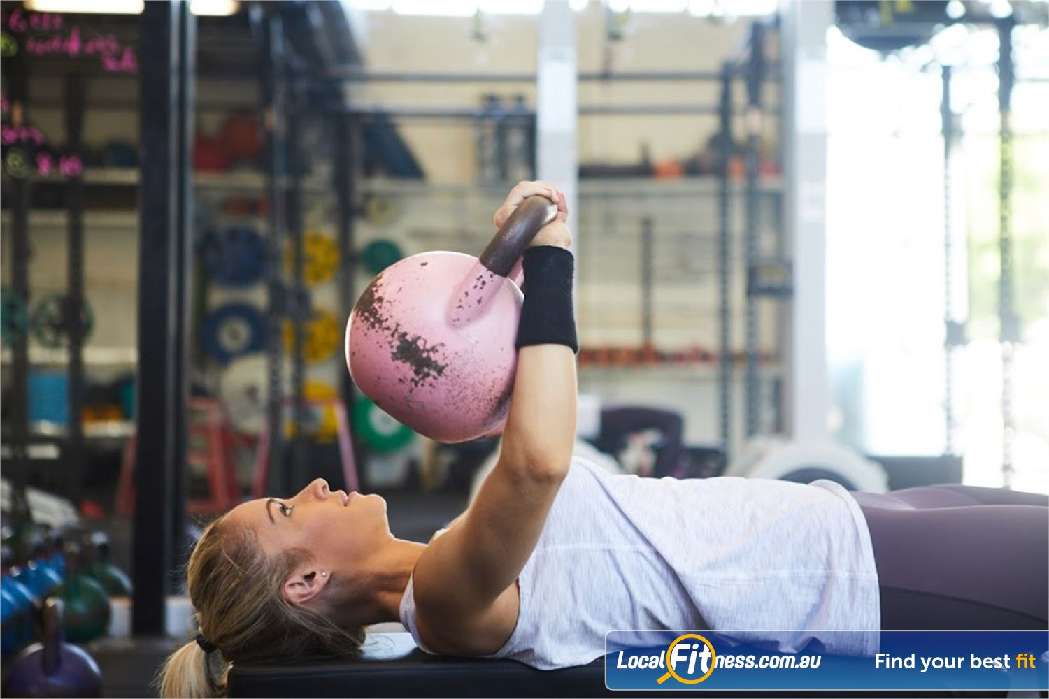 KettleFit Ascot Vale Travancore KettleFit Ascot Vale gym delivers a different workout every day.