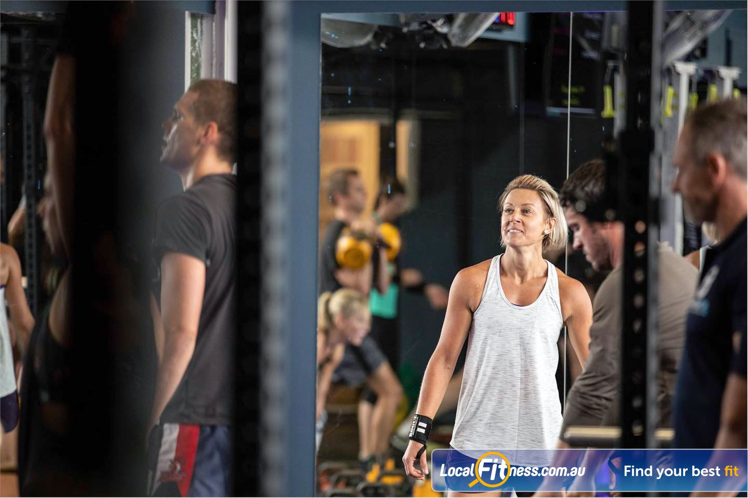 KettleFit Ascot Vale Near Brunswick West At KettleFit we think differently, so we can challenge you in different ways.