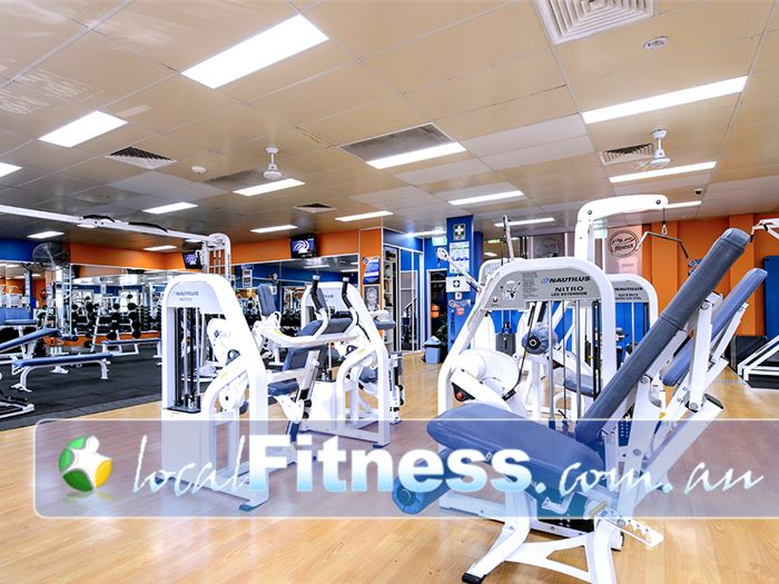 Plus Fitness Health Clubs Gym Camden South  | Easy to use pin-loading machines.
